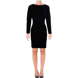 Lauren Ralph Lauren Black Velvet Dress